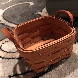 Small Longaberger basket